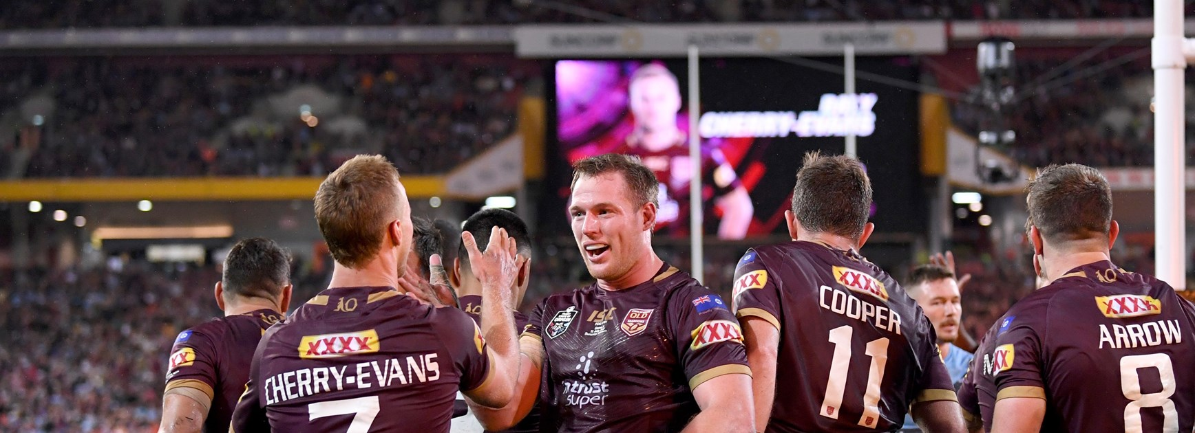 Maroons Origin team: Napa promoted as Wallace, Glasby recalled