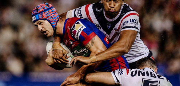 Newcastle handed heavy defeat at the hands of the Roosters