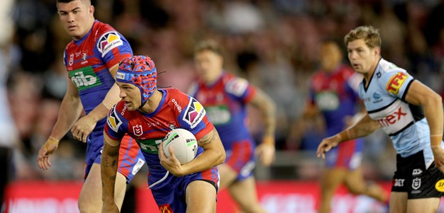 Late Ponga try seals a gutsy 26-22 win for Newcastle