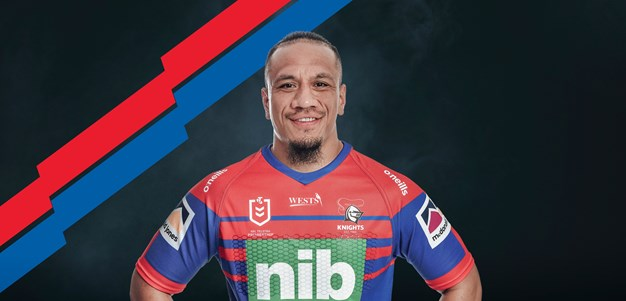 Sauaso Sue signs with the Knights