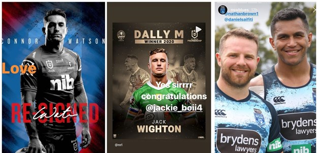 Social: Connor praise, Dally M reactions
