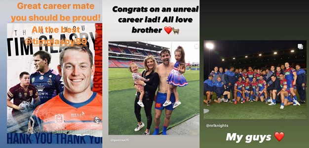 Social: Guerra and Glasby retirement reaction