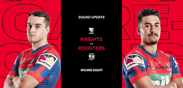 Squad Update: Fitzgibbon, Hoy verdict ahead of Roosters clash