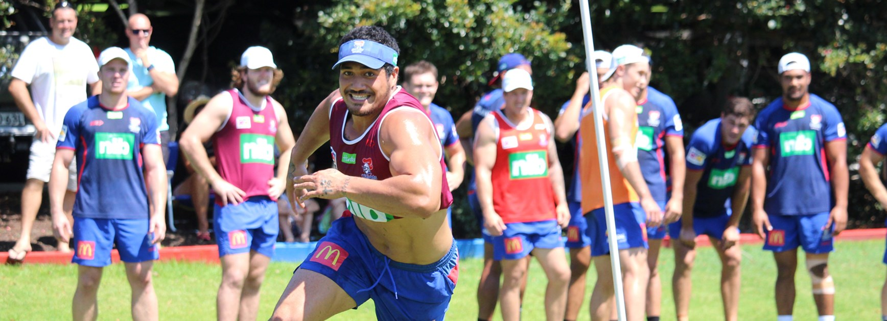 Mata'utia's push for Round 1 starting spot
