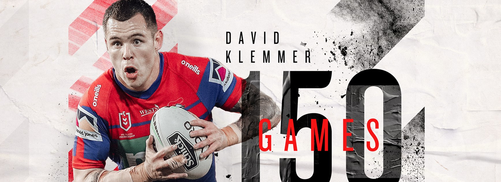 David Klemmer's road to game 150