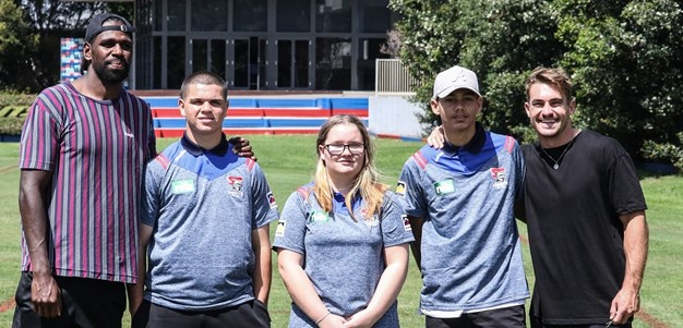 Knights support NRL School to Work program