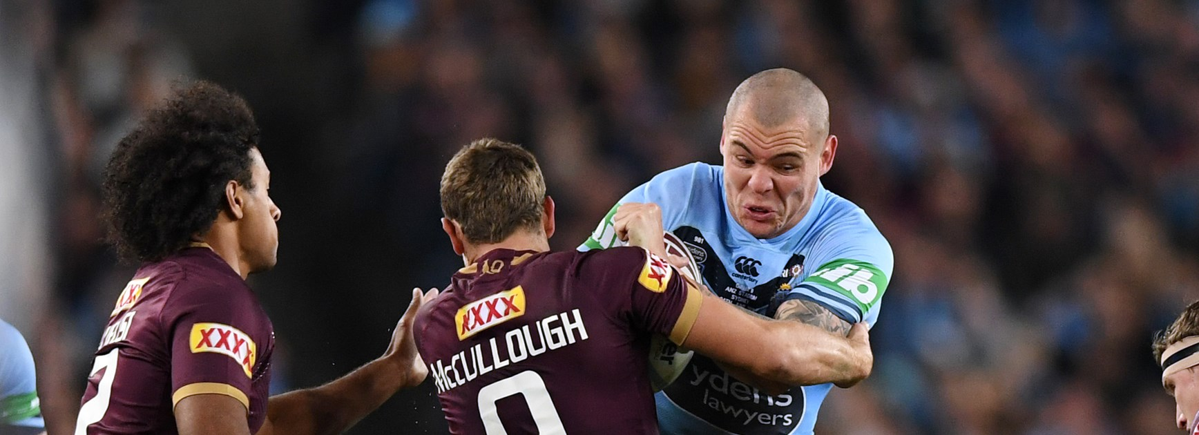 Two Knights in Origin and another 18th man