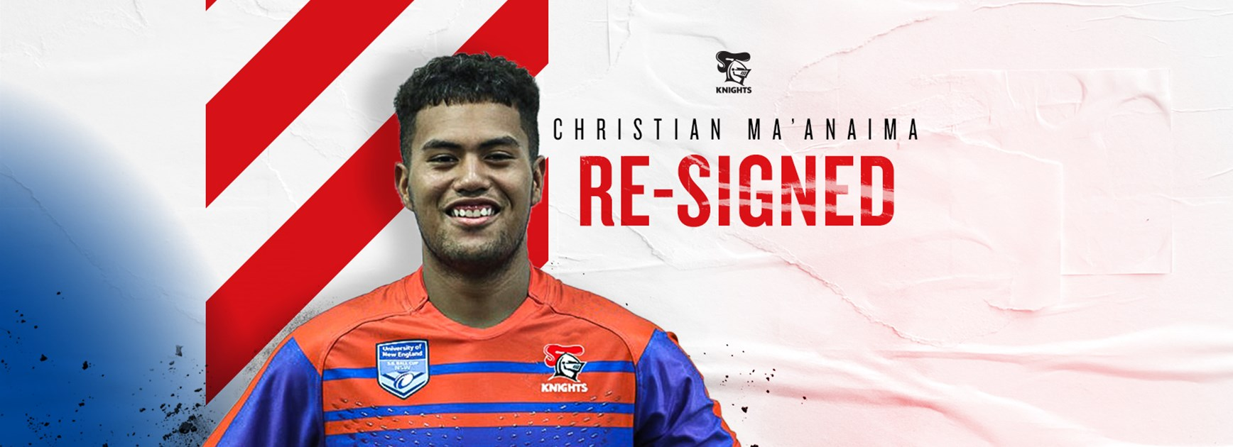 Promising forward Ma'anaima signs NRL deal