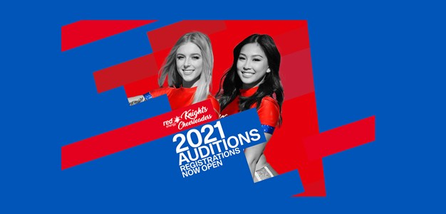 Registrations open for 2021 cheerleader auditions