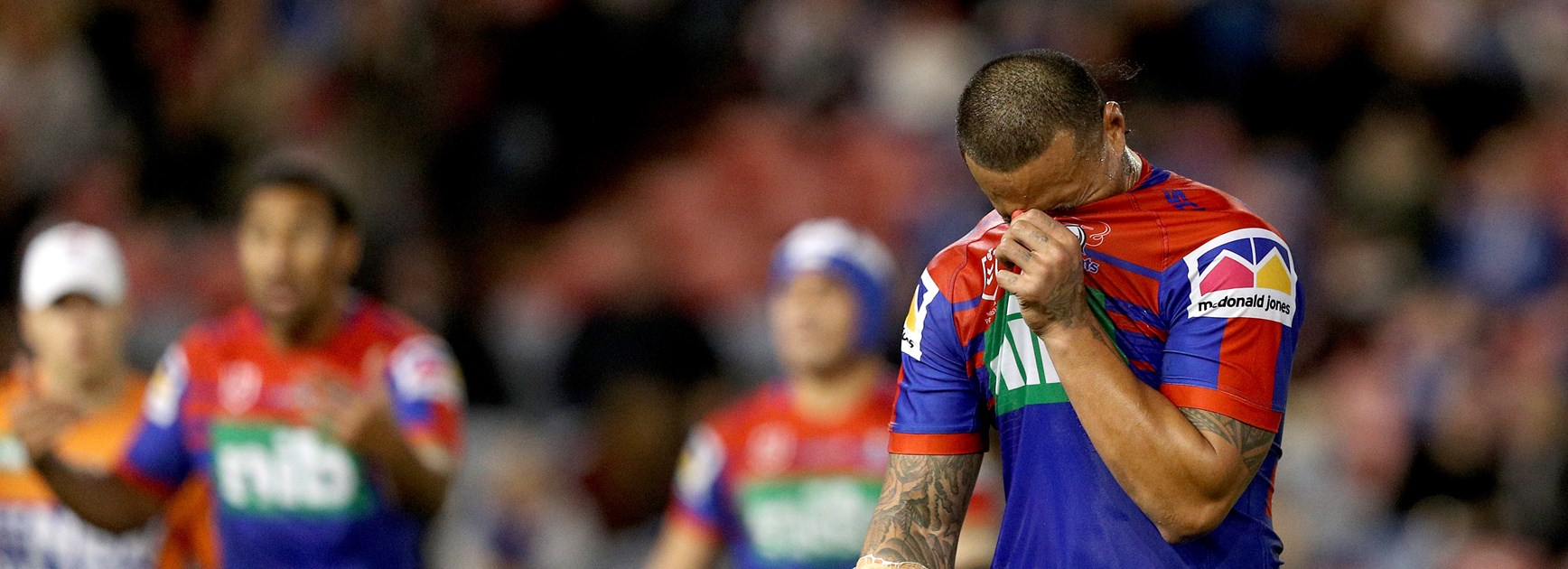 Gavet's emotional farewell to the NRL