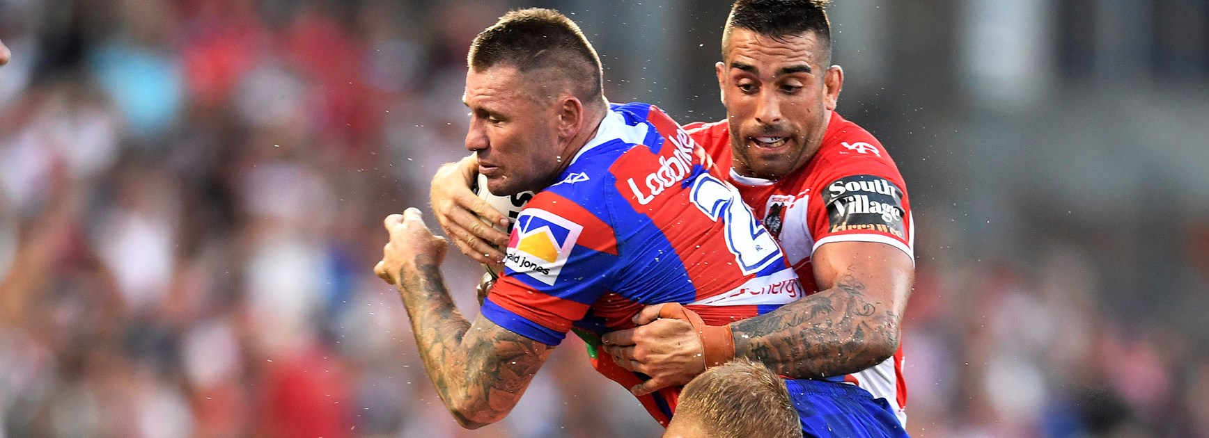 In the sheds: Shaun Kenny-Dowall