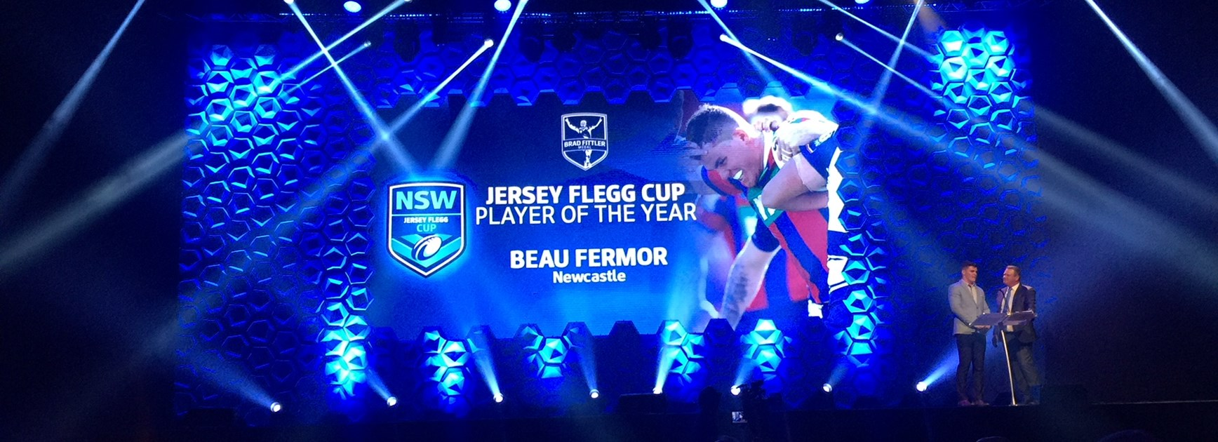 Young Knight claims 20s NSWRL Player of the Year