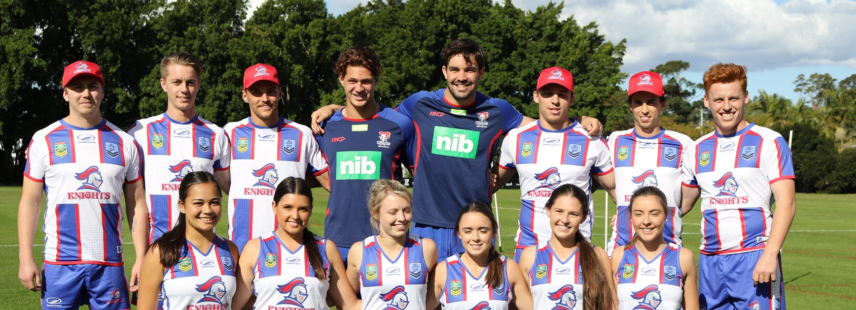 Knights launch touch football teams