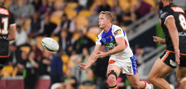Tigers turn it on to down Knights in Brisbane