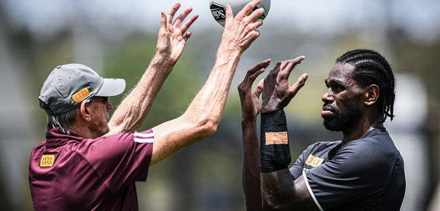 Shots! Our Knights' first week in Origin camp