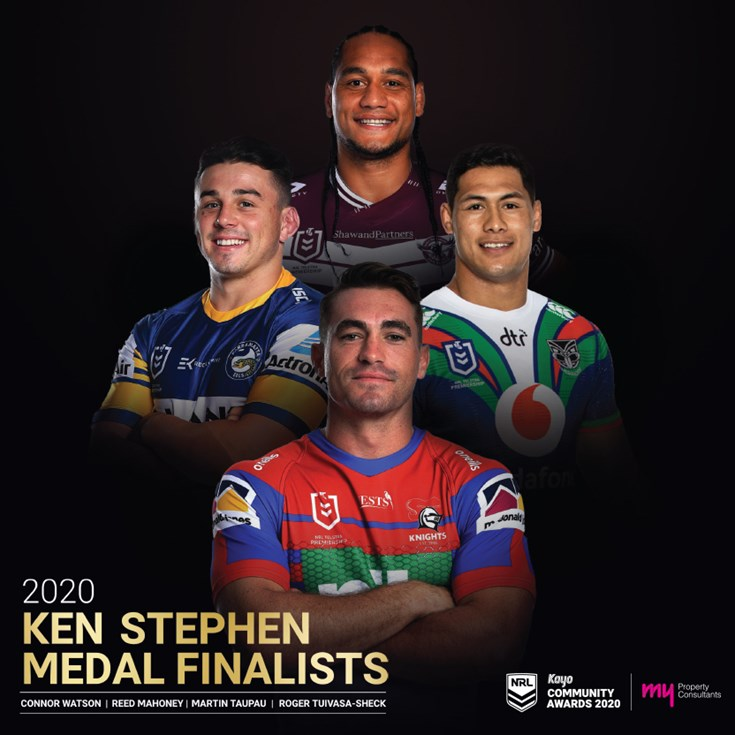 Connor Watson named as finalist for Ken Stephen Medal