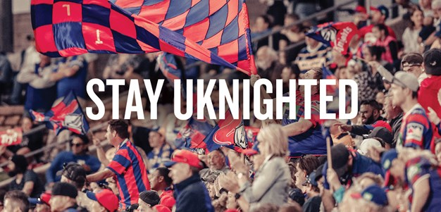 Knights launch STAY UKNIGHTED pledge