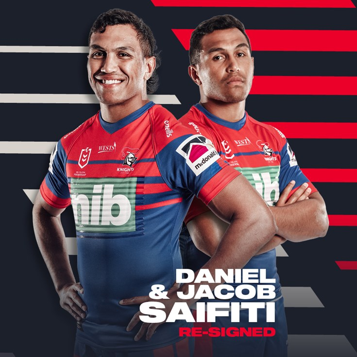 Saifiti brothers extend contracts with Knights