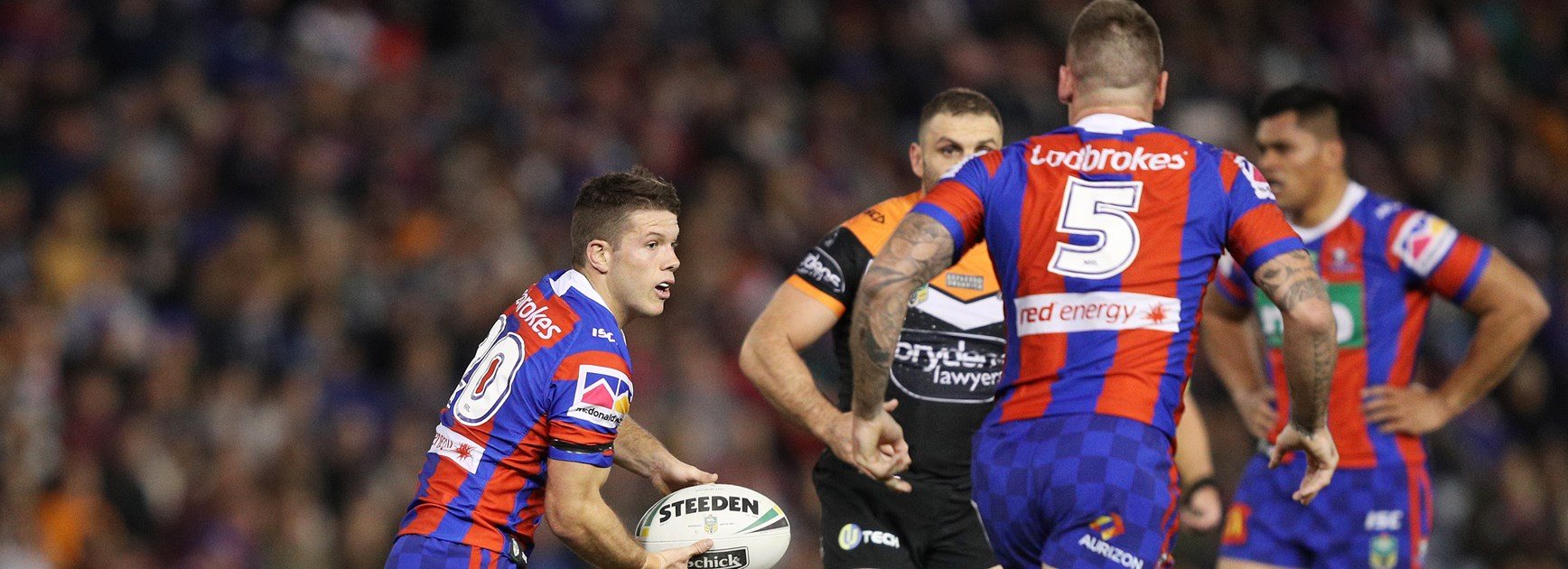 Late comeback from Knights not enough to edge out Tigers