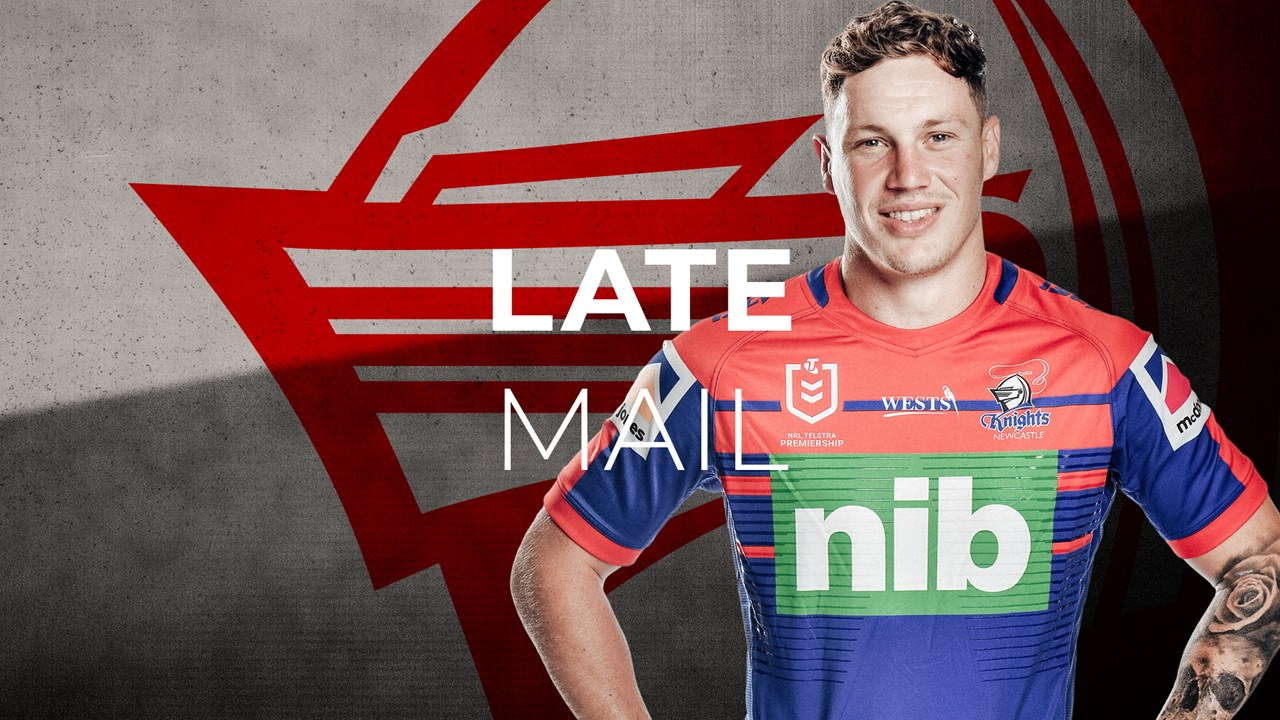 Late mail: Knights confirm 17 to face Cowboys