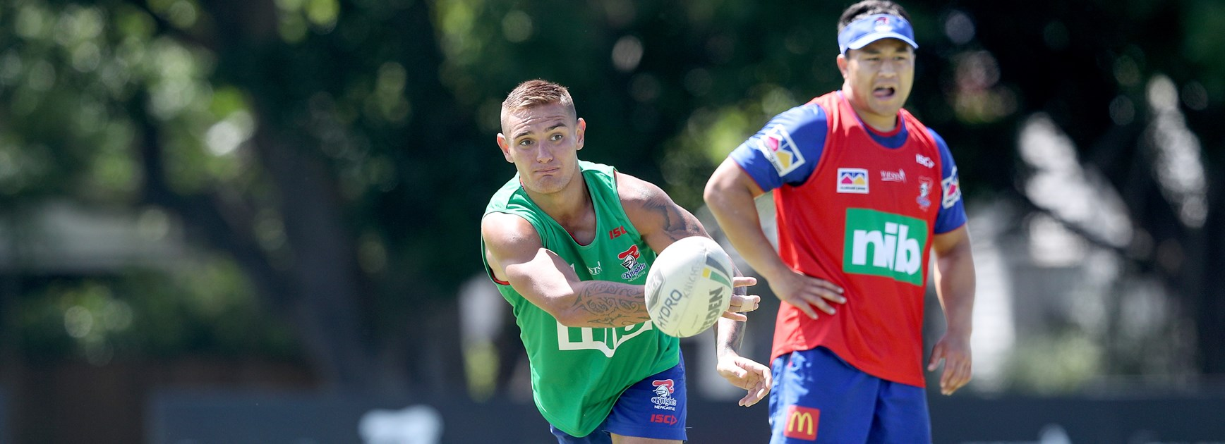 Levi chasing No.9 jersey and Kiwis jumper