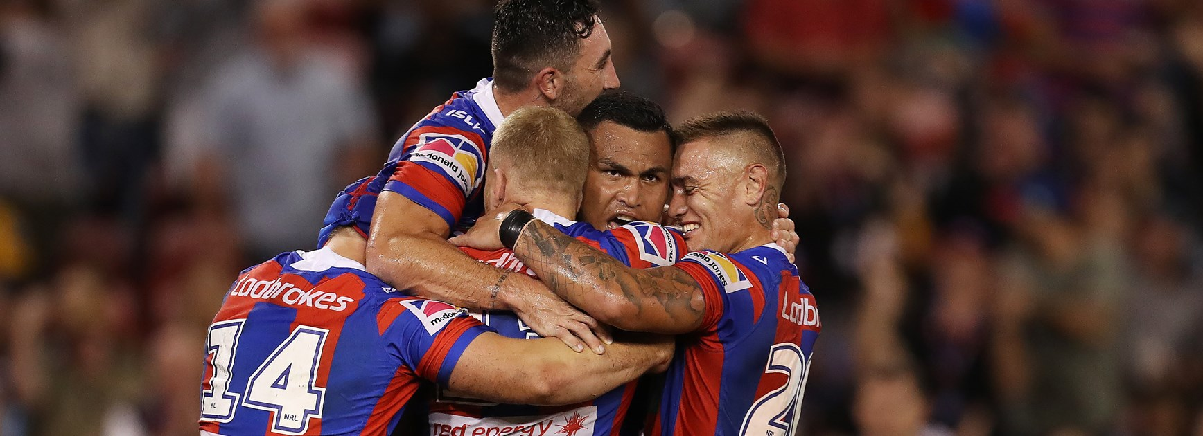 Knights charge into top eight with win over Broncos