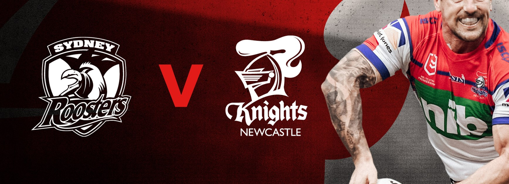 Knights v Roosters Round 18 NRL team