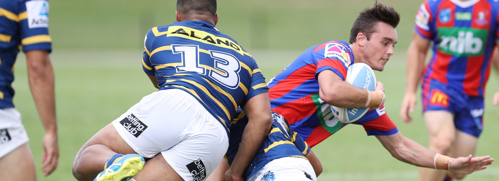 Jersey Flegg Knights record win over Eels