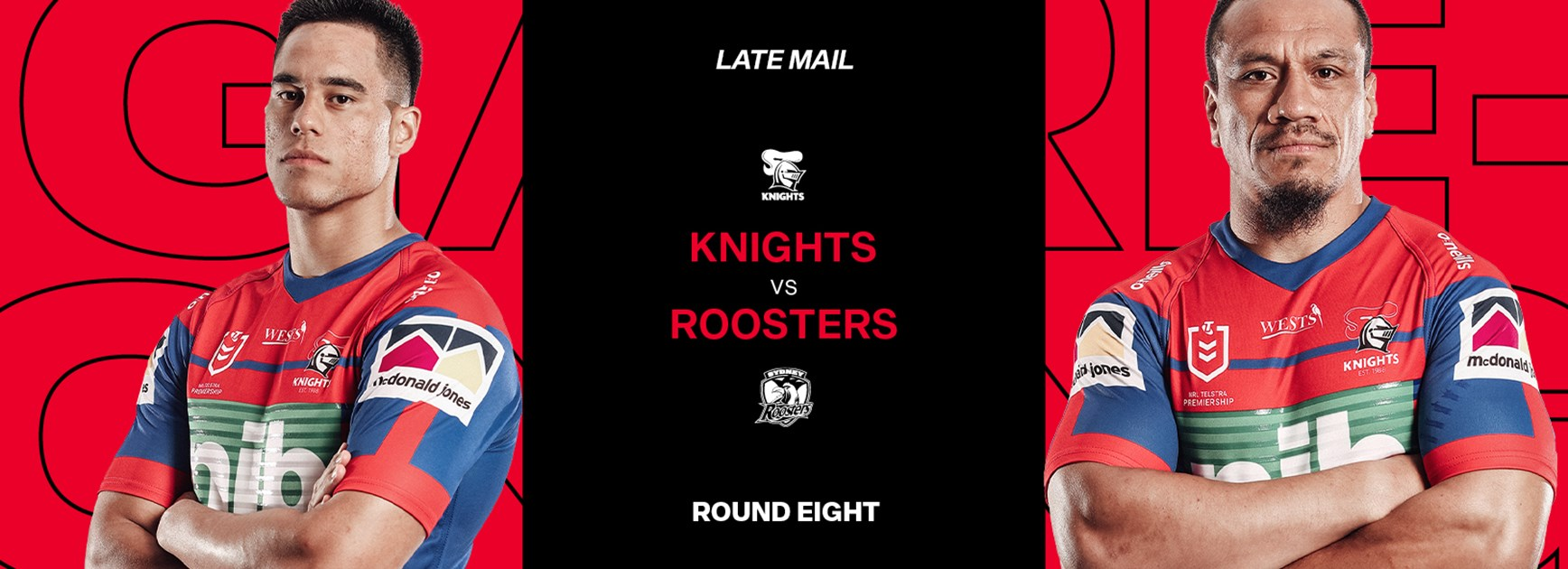Late Mail // Bench change for Chooks clash
