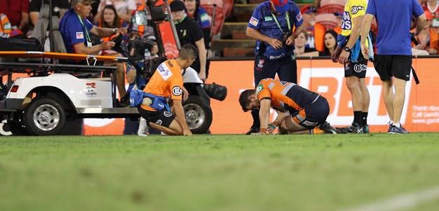 Guerra undergoes surgery on broken leg
