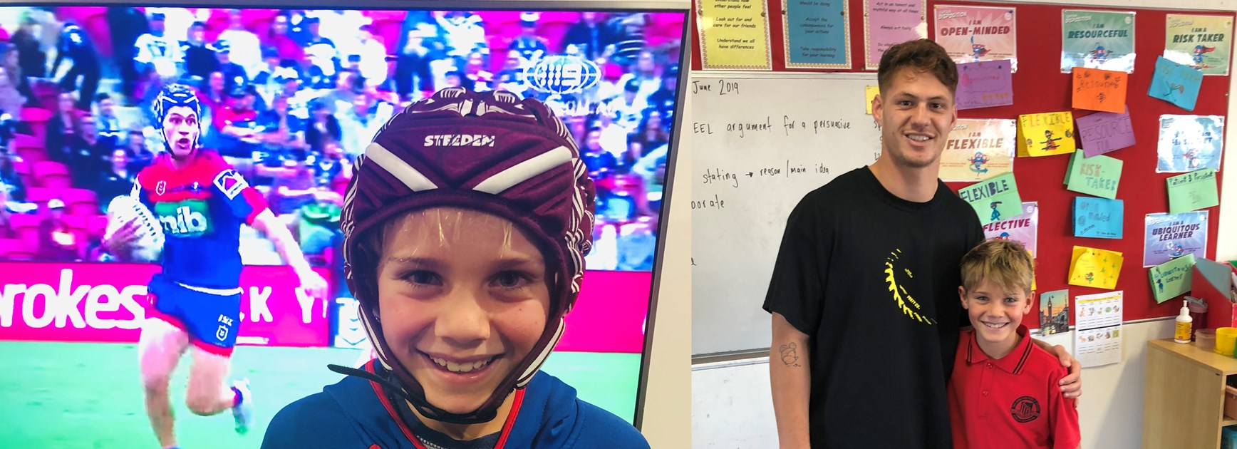 Ponga stuns school student with incredible gesture