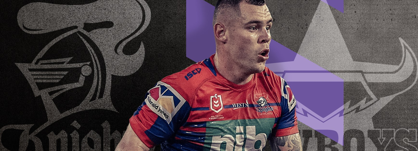 Knights v Cowboys Round 22 NRL team