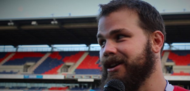 In the Sheds: Adam Cuthbertson
