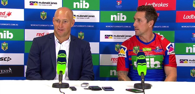 Post-match press conference: Round 1