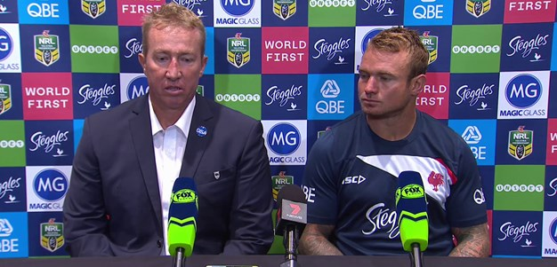 Post-match press conference: Roosters