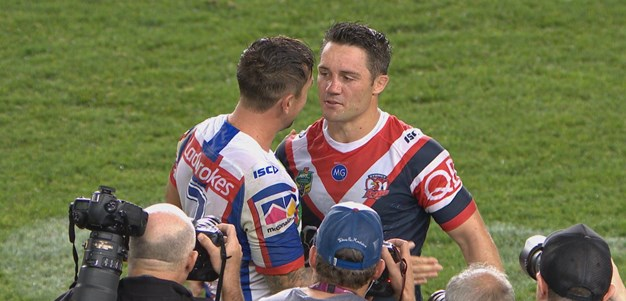 Match highlights: Roosters v Knights