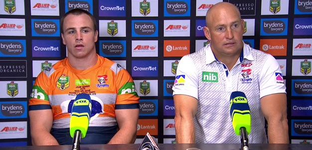 Post-match press conference: Round 7