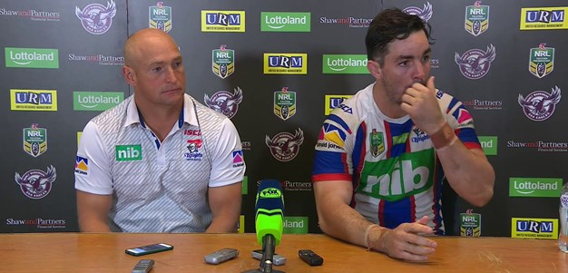 Post-match press conference: Round 8