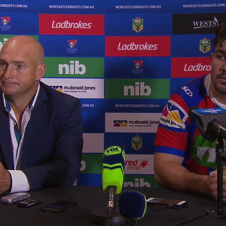 Post-match press conference: Round 9
