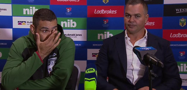 Press conference: South Sydney Rabbitohs