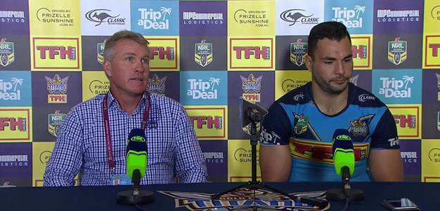 Post-match press conference: Titans