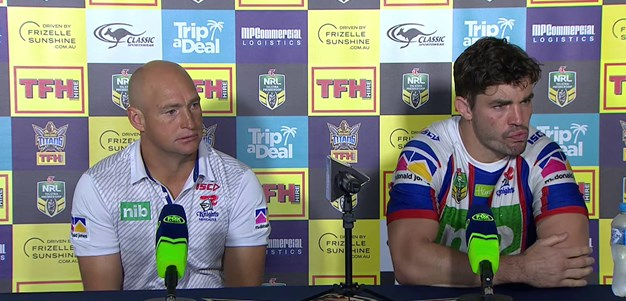 Post-match press conference: Round 11