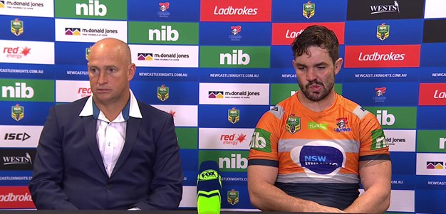 Rd 14 press conference: Buhrer injury, Roosters loss