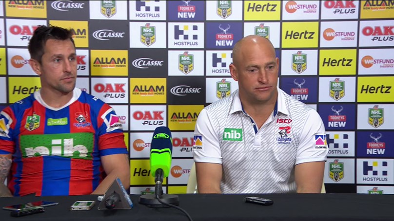 Knights press conference - Round 23, 2018