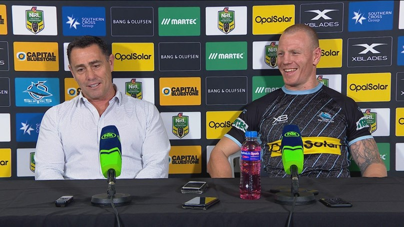 Sharks press conference: Round 24, 2018