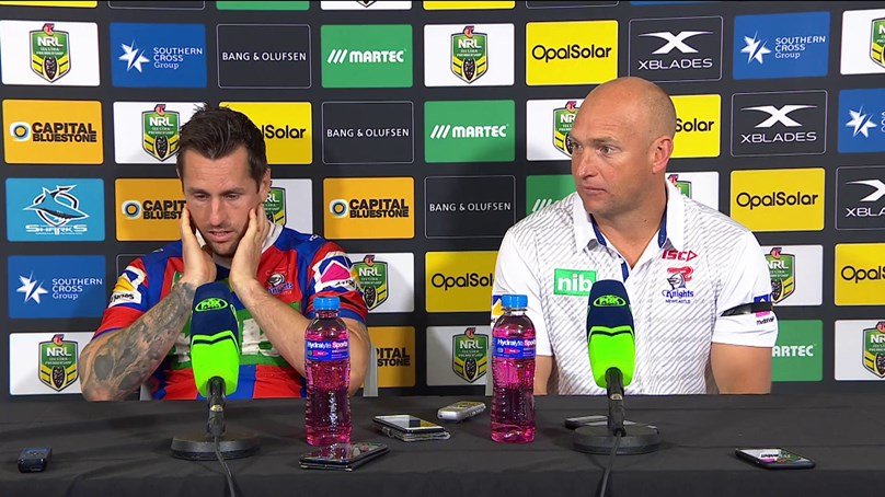 Knights press conference: Round 24, 2018