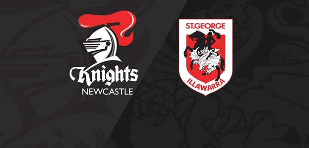 Extended Highlights: Knights v Dragons - Round 25