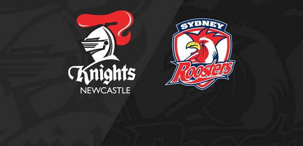 Classic Clash: Knights v Roosters (19) Logo kiss