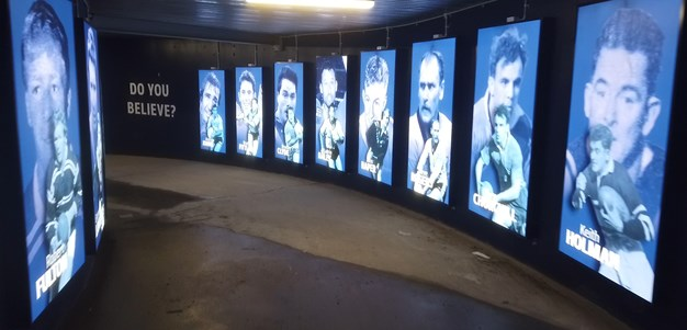 Knights legends lauded in new Blues tunnel