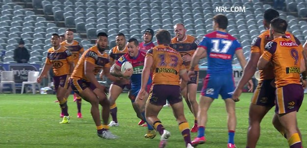 Watch: Zippy Pearce scores solo try